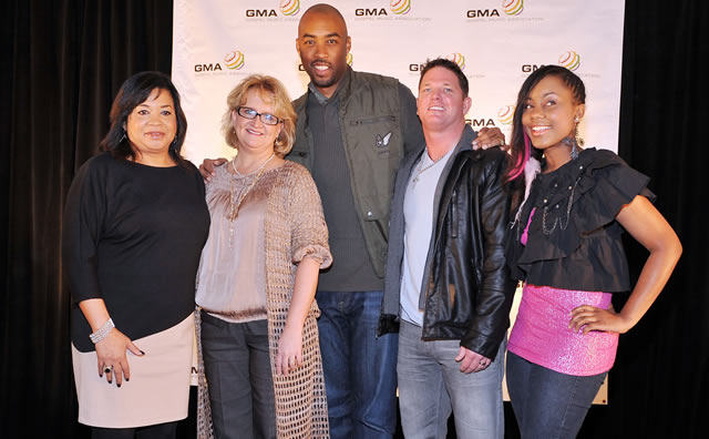 Dove Awards Nominations 2012 In Atlanta with Montell Jordan Chonda Pierce AJ Styles Jamie-Grace Jackie Patillo