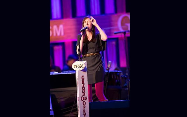 FRANCESCA BATTISTELLI GRAND OLE OPRY