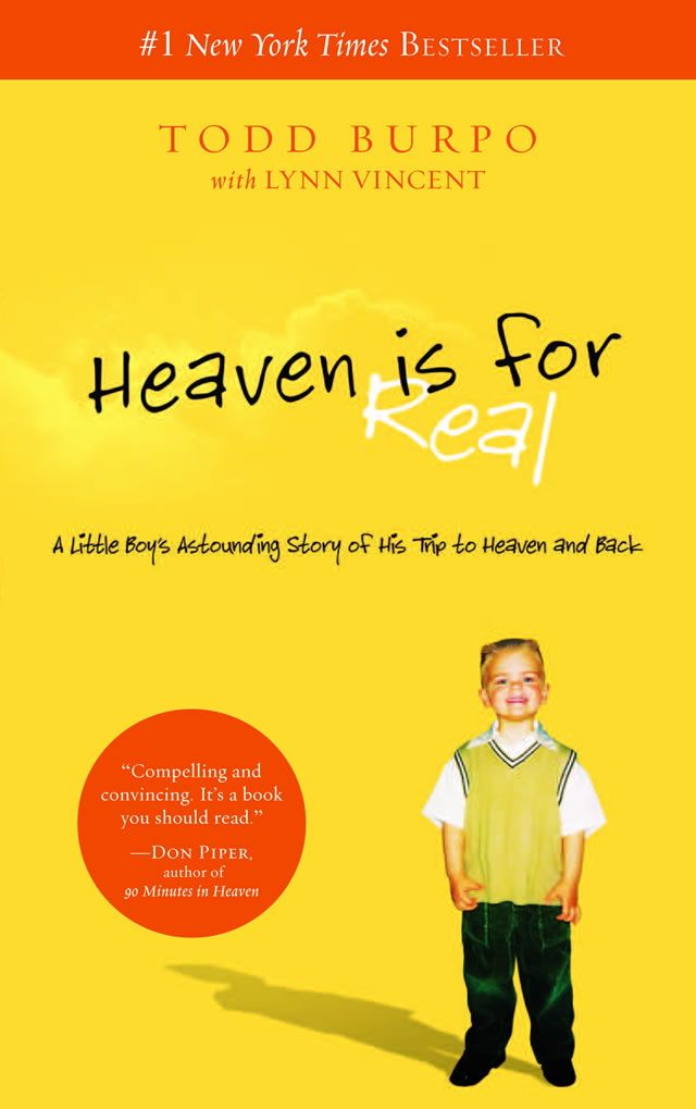 Heaven Is for Real Best Seller Reaches One Million E-books Sold