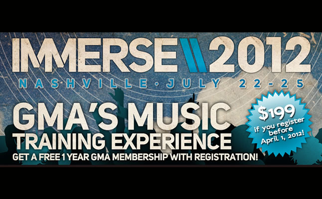 IMMERSE Announces Michael W Smith Chris August Derek Webb as Featured Performers