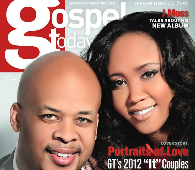 JAMES  CHERYL FORTUNE FEATURED ON COVER OF MAY-JUNE GOSPEL TODAY1