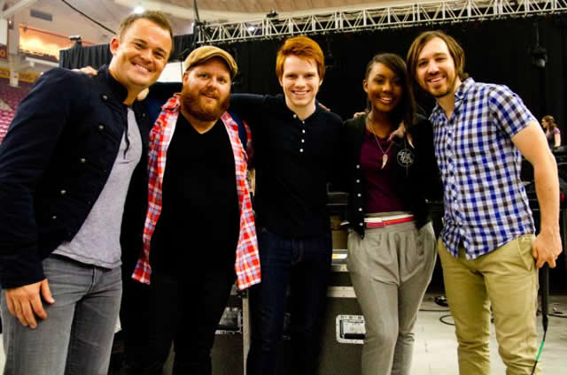 JAMIE GRACE AND LEELAND JOIN NICK HALL FOR UNITE NATIONAL DAY OF PRAYER GATHERING