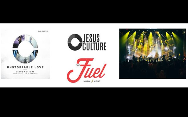 JESUS CULTURE MUSICS UNSTOPPABLE LOVE CD-BLU-RAY-DVD