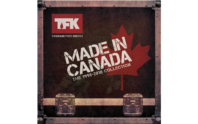THOUSAND FOOT KRUTCH MADE IN CANADA