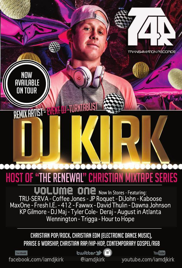 TRANS4MATION RECORDS CELEBRATES THE DEBUT RELEASE OF ARTIST DJ KIRK