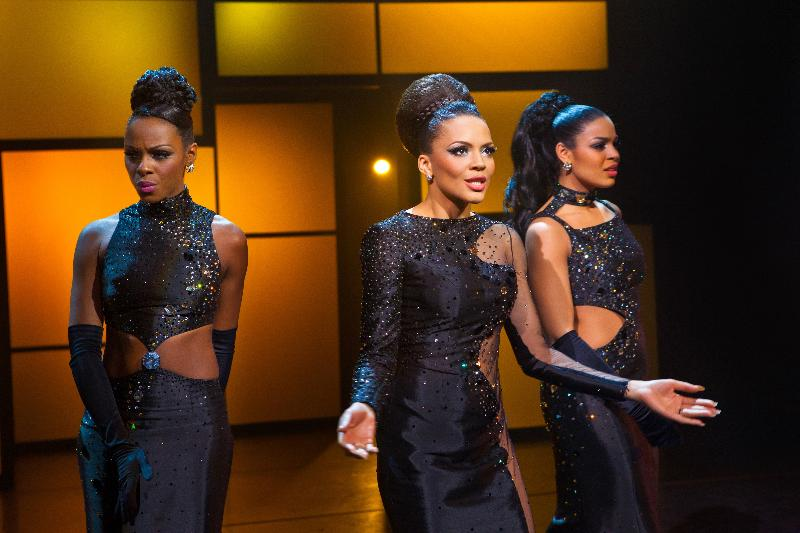 Tika Sumpter, Carmen Ejogo, and Jordin Sparks in the feature film Sparkle now in theaters