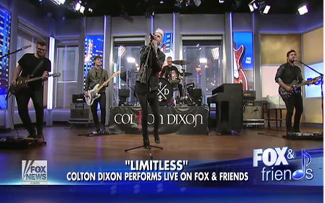 Watch Colton Dixon Perform Limitless on FOX  Friends
