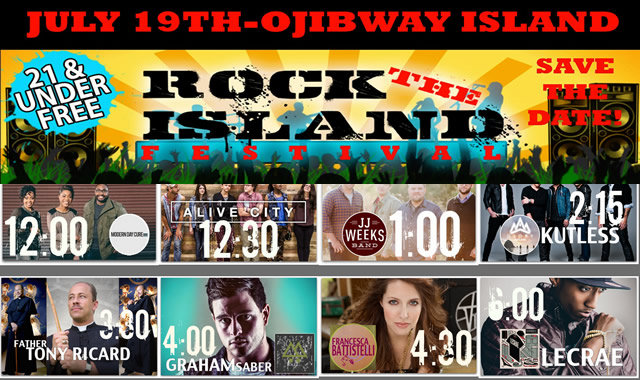Win Tickets to See  Lecrae Francesca Kutless at Rock The Island Festival