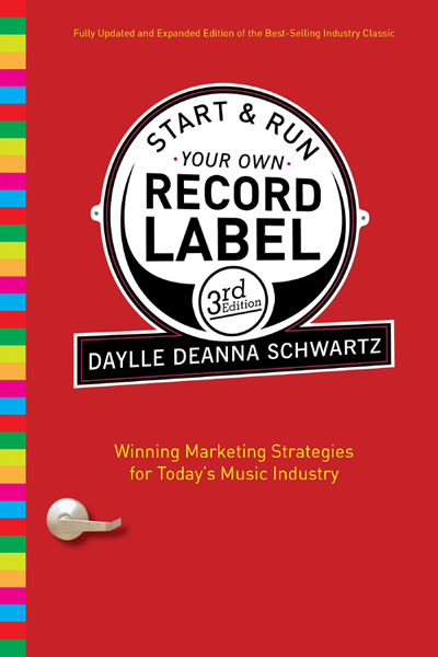 start your own record label book
