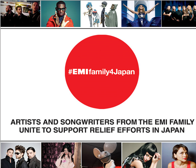 EMI_FAMILY_CHARITY_AUCTION_TO_RAISE_FUNDS_FOR_JAPAN