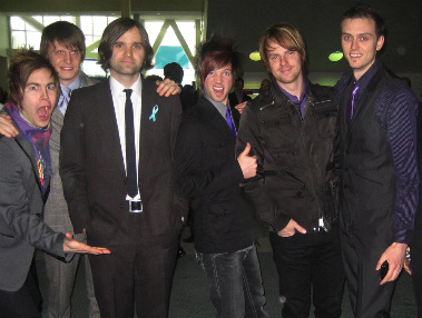 after_edmund_with_death_cab_for_cutie_at_the_grammys_on_february_8_2009._l-r_after_edmunds_mitch_parks_death_cab_for_cuties_chris_walla_and_ben_gibbard_and_after_edmunds_ben_hosey_matt_mcfadden_and_yates