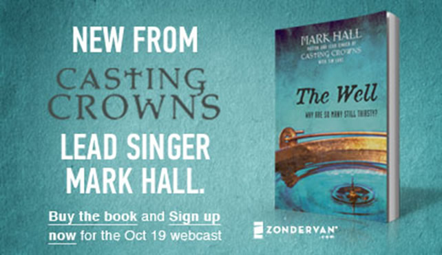 casting_crowns_leader_Zondervan_Presents_An_evening_with_Mark_Hall_Live_on_October_19